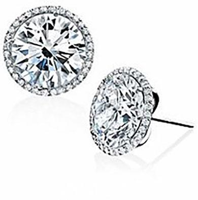Diamond Earrings Old City Certified Stud